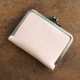 poussette(プセット) 3.5寸 ヌメ革 がまぐちパスケース [g35160001] 京都のがま口作家・小川大介さんのガマグチ・がまぐちバッグ 本革(天然皮革) ハンドメイド 手作り 日本製 国産