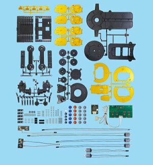 グリッパーアームロボットロボット工作/夏休み工作キット組み立て知育教材小学生小学校実験機械ラジコン