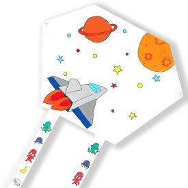 工作キット スーパーぐにゃぐにゃだこ B 組立済 × 10個セット 凧 工作キット 手作り / たこ タコ 夏休み 冬休み お正月/伝承玩具 伝統玩具 昔の遊び/たこあげ kite