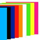 カッティングシート / 光沢カッティングシール (ステッカーシート) 25×30cm 全9色 (蛍光ピンク/黄色/緑/オレンジ/赤 …