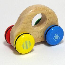ベビー用 木のおもちゃ 車 「ロールンロール」 赤ちゃん 木製玩具 Voila ボイラ 1歳 男の子 女の子 幼児