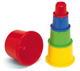 砂遊び お砂場セット 「ネスティングビーカー 5個」 おもちゃ 男の子 女の子 子供