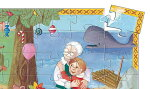  シルエットパズルピノキオ パズル知育玩具