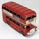 ロンドンバス ブリキ製 ヴィンテージカー L26cm ブリキ おもちゃ アンティーク レトロ 車 ブリティッシュ 雑貨 インテ…