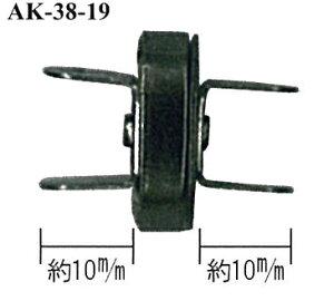 \【11日01:59まで限定】当店通常価格3%オフ/足折れマグネットボタン 厚口 直径18mm 4ヶ入 アンティークゴールドINAZUMA イナズマ 持ち手 持ち 手[AK-38-19AG]