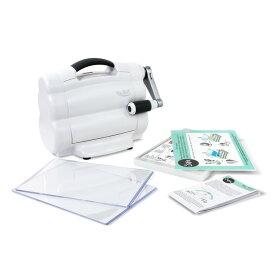 Sizzix シジックス ビッグショット ダイカットマシン [フォルダウェイ] / Big Shot Foldaway Machine (White and Grey)