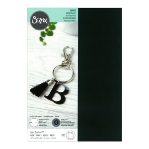 Sizzix シジックス サーフェス シュリンクプラスチック [ブラック] 10枚入 / Surfacez Shrink Plastic 10PK Black