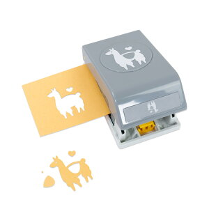 EKサクセス クラフトパンチカッター ラージ [ラマ ラブ] / EK Punch Large Llama Love