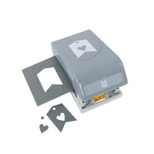 EKサクセス クラフトパンチカッター ラージ [ハートタグ] / EK Punch Large Heart Tag