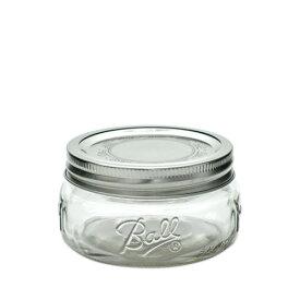 ボールメイソンジャー ワイドマウス コレクションエリート 240ml / Ball Mason Jar Collection Elite Wide Mouth 8oz