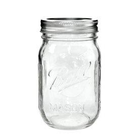 ボールメイソンジャー レギュラーマウス 480ml / Ball Mason Jar Regular Mouth 16oz