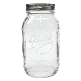 ボールメイソンジャー レギュラーマウス 940ml / Ball Mason Jar Regular Mouth 32oz