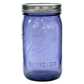ボールメイソンジャー ワイドマウス ヘリテージコレクション パープル 940ml / Ball Mason Jar Heritage Collection Purple Wide Mouth 32oz