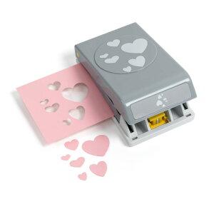 EKサクセス クラフトパンチカッター ラージ [コンフェッティハート] / EK Punch Lg Confetti Hearts