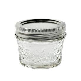 ボールメイソンジャー クリスタル ジェリージャー レギュラーマウス 118ml / Ball Mason Jar Quilted Crystal Jelly Jar Regular Mouth 4oz