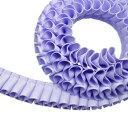 """グログラン [プリーツ] リボン 2cm幅 ラベンダー 3m / Grosgrain [Pleated] Ribbon Width 3/4"""" Lavender 3m"""