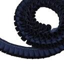 """グログラン [プリーツ] リボン 2cm幅 アドミラル 3m / Grosgrain [Pleated] Ribbon Width 3/4"""" Admiral 3m"""