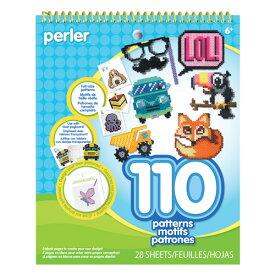 【輸入版】パーラービーズ 110パターンシート / Perler Beads Perler Pattern Pad
