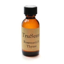 フレグランスオイル [ローズマリー&タイム] 約30ml 1oz 【キャンドル材料 】/ Rosemary & Thyme TruScent Fragrance Oil - 1oz