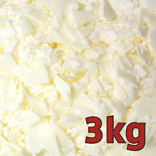 キャンドル用 ソイワックス [ナチュラル] 3kg / [NatureWax C-3] 100% Natural Soy Wax
