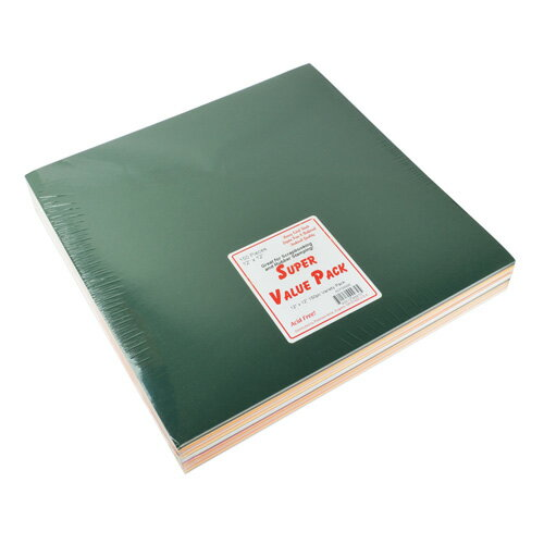 Paper Accent バリュー バラエティペーパーパック カードストック 約30×30cm 150枚入 / Super Value Variety Pack 12×12 inch 150pc