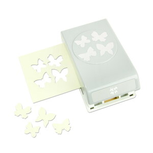 EKサクセス クラフトパンチカッター ラージ [コンフェッティ バタフライ]/ EK Punch Large Confetti Butterfly