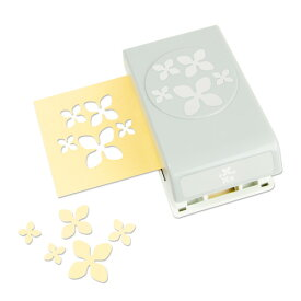 EKサクセス クラフトパンチカッター ラージ [コンフェッティ ハイドランジア]/ EK Punch Large Confetti Hydrangea
