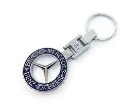 メルセデス ベンツ (Mercedes Benz) ロゴキーホルダー キーリング 両面デザイン その2