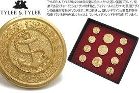 TYLER & TYLER タイラー&タイラー BOTTON SET SINGLE BREAST ANCHOR ボタンセット シングルブレスト アンカー【送料無料】【ジャケット ブレザー】
