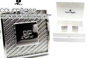 courreges クレージュ CABLE TEXTURE SQUARE CUFFLINKS ケーブルテクスチャースクウェアカフス【送料無料】【カフスボタン カフリンクス】【ブランド】
