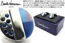 Babette Wasserman バベットワッサーマン ROTARY ROUND BLUE CUFFLINKS ロータリーラウンドカフス(ブルー)【送料無料】...