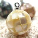丸型天然貝の可愛いl貝ボタン 釦 P-205 11.5mm