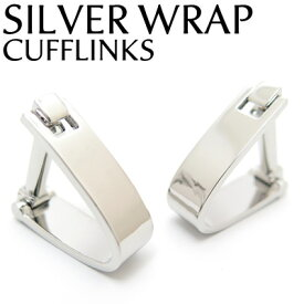 VALUE3500 SILVER WRAP CUFFLINKS シルバーラップカフス【カフスボタン カフリンクス】
