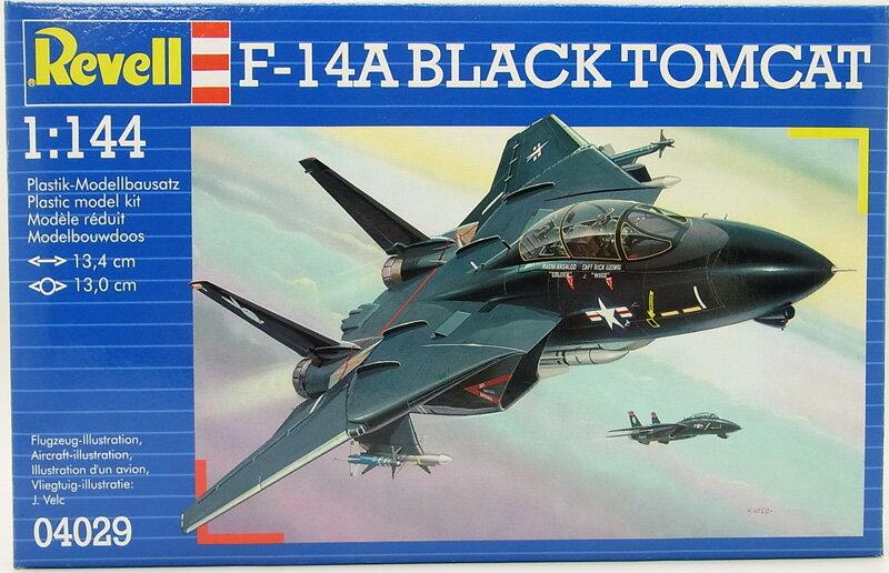 1/144 F-14A トムキャット ブラックバニー【ドイツレベル 04029】