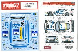 1/24 AMG GT3 #4Langstrecke24H Nur 2016(T社1/24対応)