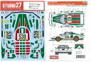 1/24ランチア ストラトス ターボ #539 Giro D' Italia 1977(T社1/24対応)【スタジオ27 デカール ST27-DC1221】