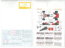 1/20 マクラーレンホンダ MP4/5B(T社 MP4/5B対応)【SHUNKOデカール SHK-D377】