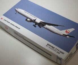 1/200 日本航空 ボーイング 777-300(新ロゴ)【ハセガワ 10715】