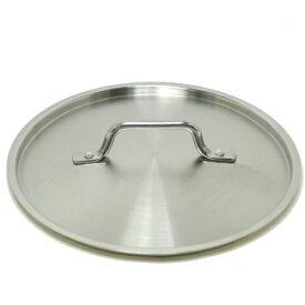 18-8ステンレス TKG PRO(プロ)鍋フタ 22cm外径/23.5cm(フライパンカバー) つや消し仕上げ ANB2404,7-0009-0704_ES