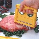 【カード払い・郵便で送料無料・日時指定不可】ミートソフター(お肉の筋切り器)MT-160Y