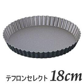 ブラックフィギュア タルト型 18cm D-027テフロンセレクト加工