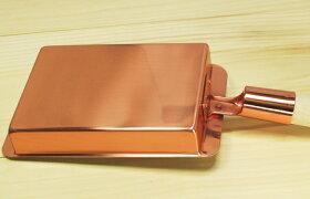 銅製玉子焼き器関西型12cm内寸幅12×長さ16.5cm(卵焼き)