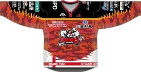 ひがし北海道クレインズ公式ユニフォーム:ホーム アイスホッケー スポーツ ウェア ユニフォーム