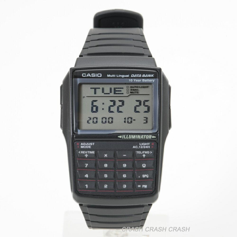 CASIO カシオ 腕時計 データーバンク DBC-32-1A ( DBC32-1A ) レトロフューチャー デジタル メンズ腕時計[送料無料/ネコポス便]BOXなし