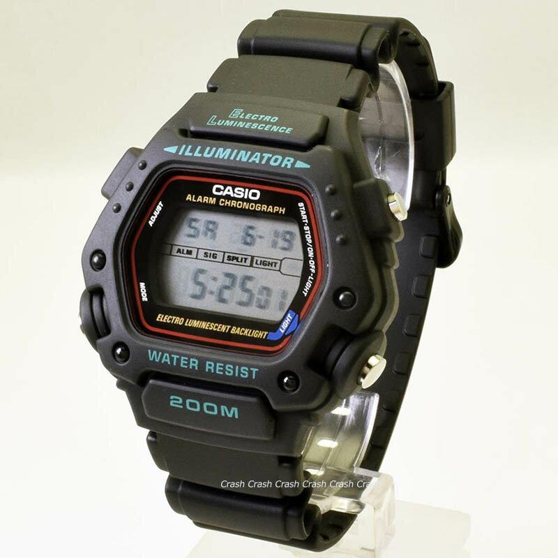 チープカシオ チプカシCASIO カシオ 腕時計DW290-1V ( DW290-1 )G-SHOCKみたい デジタル メンズ腕時計 [日本未発売][BOXなし][送料無料/一部地域除く]