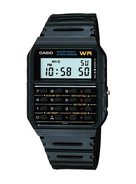 [送料無料][ポイント2倍]CASIO カシオ 腕時計CA53W-1 チープカシオCALCULATOR 計算機付☆ネコポス便発送日時指定不可/代引き不可