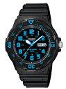 カシオ 腕時計チープカシオ MRW200H-2Bスポーツウオッチ 100M防水 ブラック/ブルー メンズ 時計 BOX無し送料無料(一部…