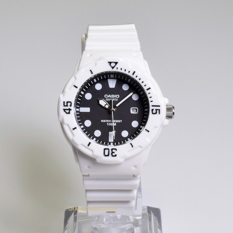 CASIO カシオ腕時計LRW200H-1E チープカシオホワイト×ブラックレディース 時計 WATCH送料無料(一部地域除く)