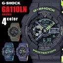 G-SHOCK CASIO カシオGショック g-shock レイヤード ツートン ネオンカラー 200M防水 耐磁 タイマー メンズ腕時計 GA110LN-1A ga110ln1 GA110LN-2