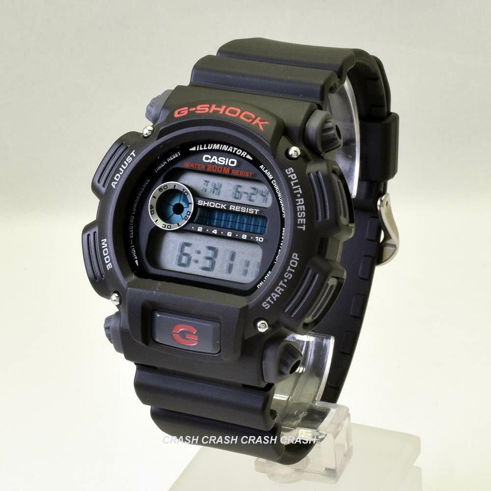 【5月30日までエントリー最大ポイント26倍】CASIO カシオ G-SHOCK日本未発売 ジーショック g-shock黒 機能重視のクラシックモデルメンズ 腕時計 dw9052 DW9052-1 [あす楽] [送料無料/一部地域除く]